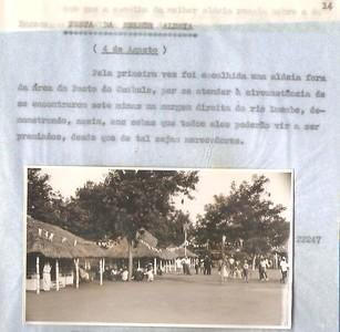 Festa da melhor Aldeia 4 de Agosto 1957