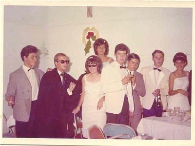 1965-66 Mario Pereira, Guilherme, Lena Nogueira, Bety Ricardo, Birita, Mário Freitas, Martinho? e Nanda