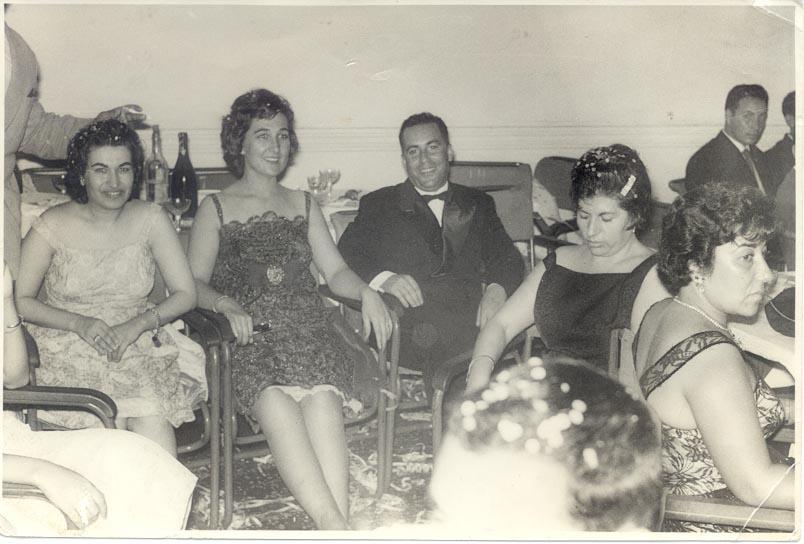 1964-65, Casal Adalberto; Sra do Pontes e Sra do Goncalves
