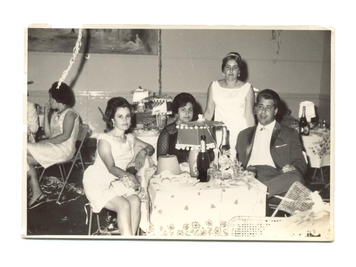 D.Fernanda Morgado, D. Laura, Isabel e Pinto Soares