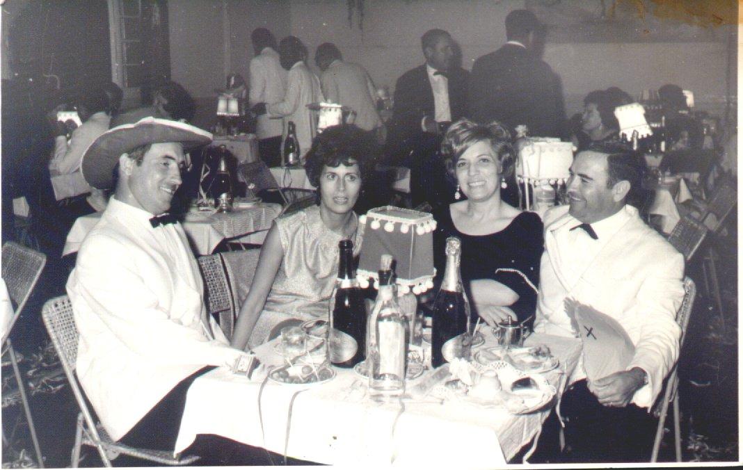 1968-69 Casal Simões e casal Venâncio