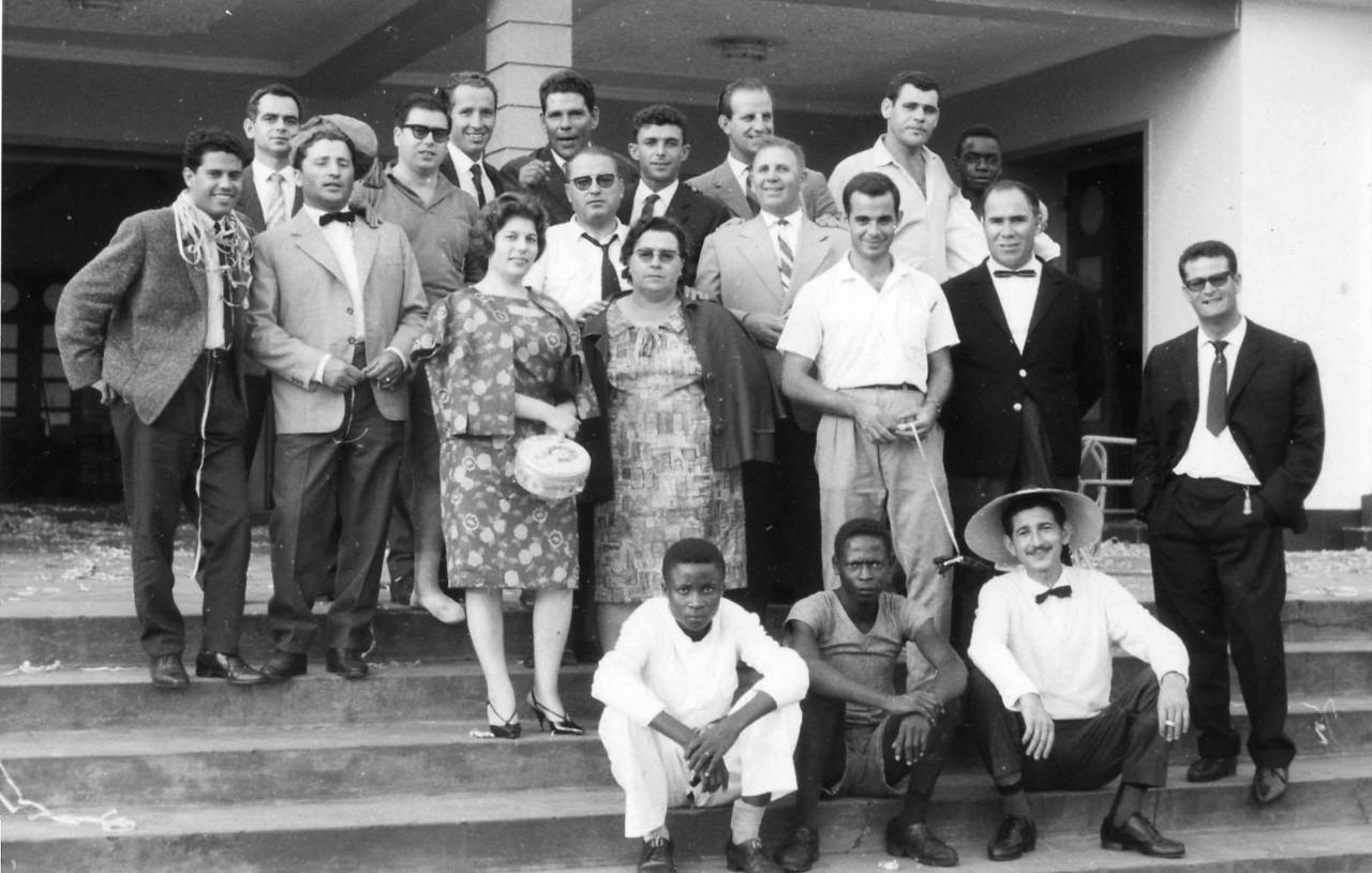 Malagueiro,..., Augusto Santos,......., Alfredo Pereira,  Gaspar, ....Antonio Nascimento, Candida Pontes, casal Amaral, Emidio Santos, Caceiro