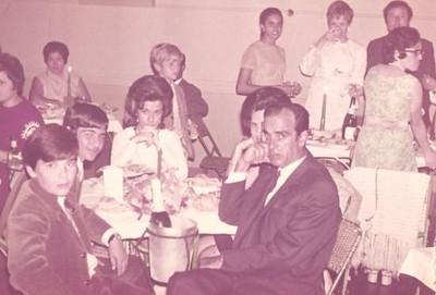 casal Joao Piedade e Mª Fernanda e filhos, Mª Joao, Carlos e Fernando