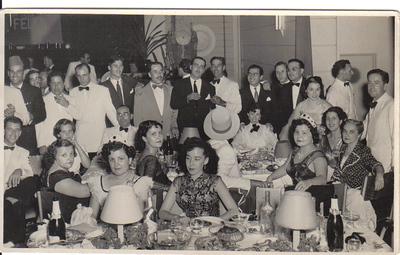 Dundo 51-52 Medina, Emídio Santos, casal Maldonado, casal Alfredo Pereira