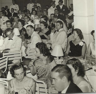 Fim de ano no Dundo, 1956/57 Casais:  Mota, Bastos, Mendoncas, Pascoa