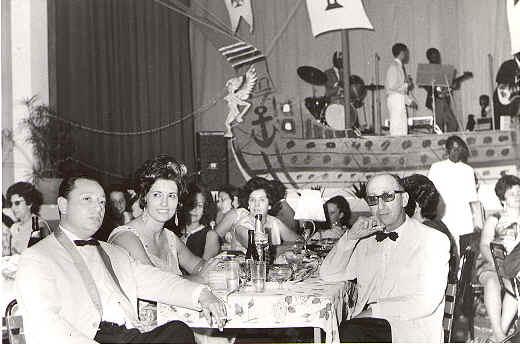 Fim do Ano 70-71 Dr. Pedro Alves, Celeste P. A.; D. Zi Valente; Dr. Rocha Afonso