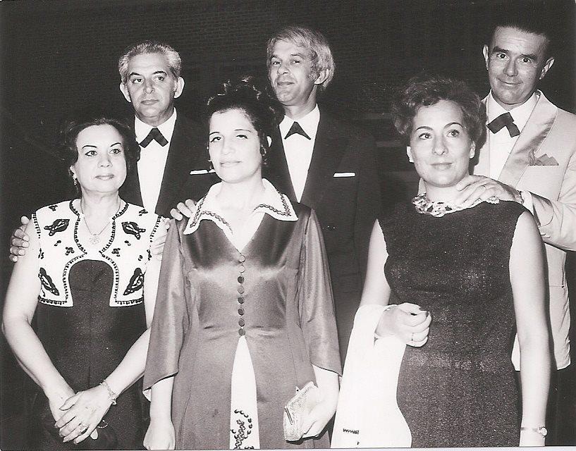 Dundo - Passagen d'Ano 1971/1972  Henrique e Gina Mota, São e Zé Gameiro,  Lurdes e Jean Guimarães
