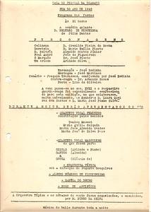 1945 - Programa de Festas