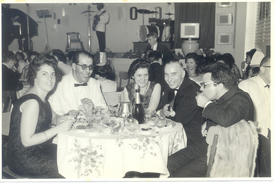 Casal Dr. João Novo, casal Dr. Augusto Rebelo e Dr. David Bernardino