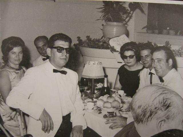 Casal Gastao, Antonio Boal, Helena e Augusto Simoes e o Fernando Nunes
