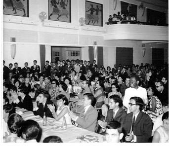 Dundo Agosto de 1966 - Fim de Ferias - Despedida dos estudantes.