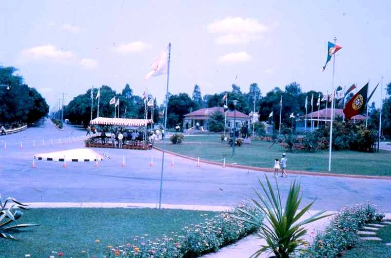 Dundo, Largo do Museu  Homenagem a Quirino da Fonceca