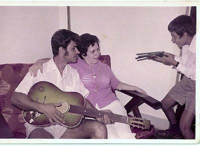 ANDRADA - 1970 -Familia Passaradas Nuno Passaradas, Domitilia Passaradas,  Zé Tó Passaradas