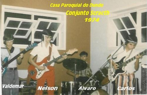 Conjunto Scracth-Dundo 1974 Imaos Valdemar e Nelson; Alvaro e Carlos