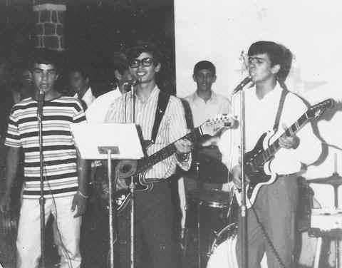 Zé Santos Sousa, Nando  e Vicky Martin