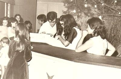 Natal na Casa do Pessoal de Andrada, Milu Videira