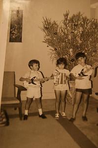 Lucapa Teresa Salvado Costa, Jose Salvado e amigo