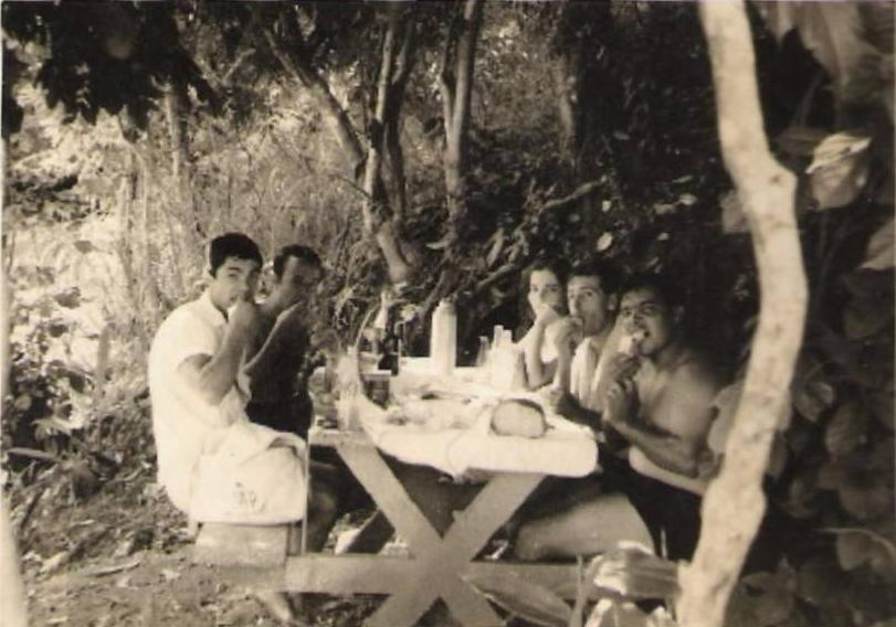 1963- Pique-nique na piscina de Andrada