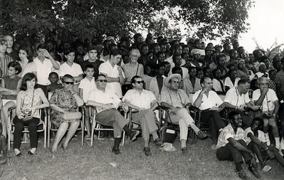 Festa aldeia do Museu do Dundo