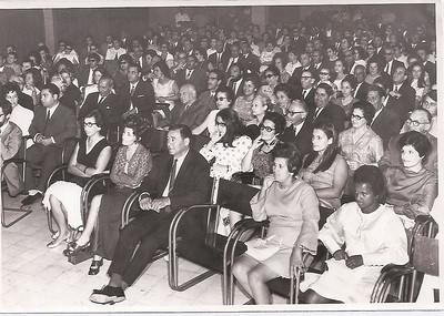 """Dundo 1970 - plateia em """"A Mordaça"""""""