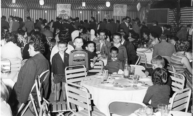 Mendes e filhos gemeos Luis e To'; Joca Moreira Rato; Victor Valente e Luis Valente