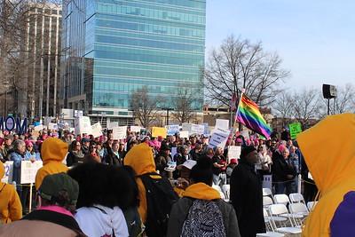 HKonJ March Iin Raleigh Feb 11 2017