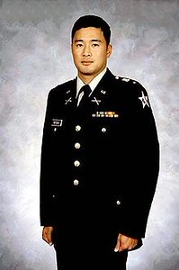 """Speech given by Watada in 2007, two days before he would face a US Army courtmartial for refusing to deploy to what he knew was an illegal war under the Doctrine of Command Responsibility. <a href=""""https://www.youtube.com/watch?v=4cs4YUiQ-DI"""" target=""""_blank"""">Lt. Ehren Watada on Citizen Responsibility</a>"""
