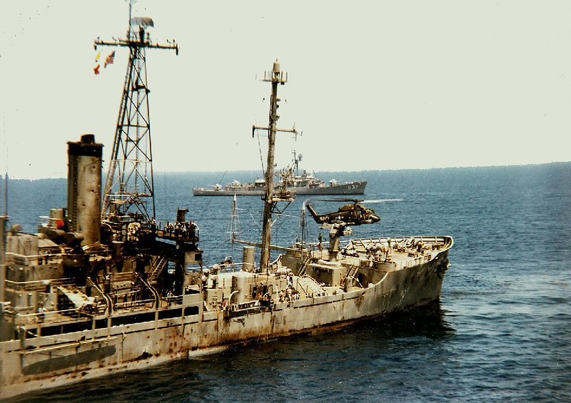 06.08.1967 The USS Liberty limps back to port after being attacked by Israeli forces in what could only have been an attempt to sink it and blame the attack on Egypt.