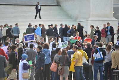 Rally at Supreme Court: McCutcheon
