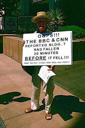 On Sunset Blvd. Sept.11, 2008 near CNN Hollywood