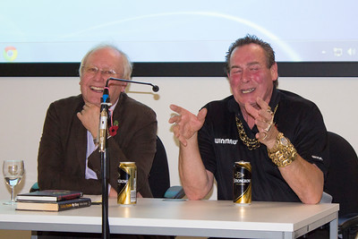 Public Relations  Russell Leeburn with Bobby George