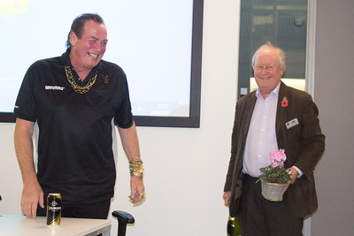 Public Relations Bobby George with Russell Leeburn