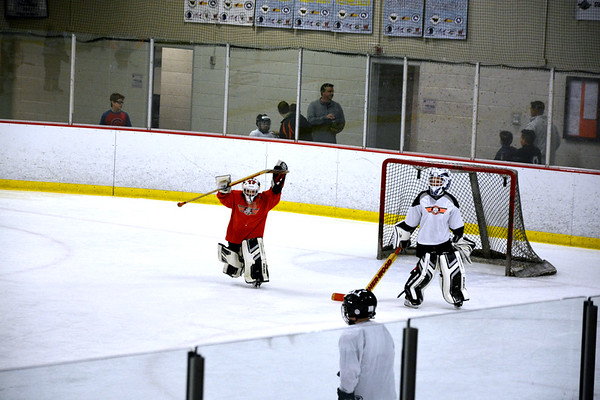 Mites 2 Final Practice - Kids v Coaches