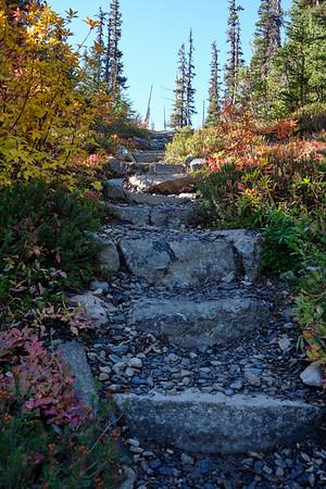Impressive stone staircase