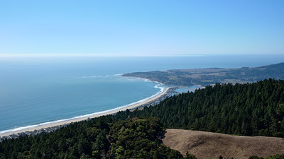 View out to Stinson Beach