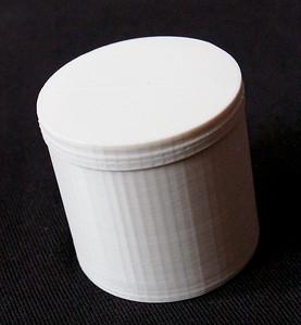 Screw Cap container - My Design