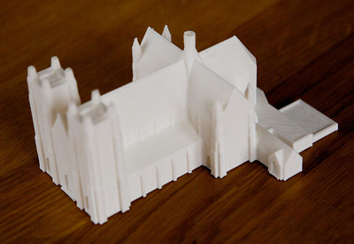 Model Cathedral - from Thingiverse