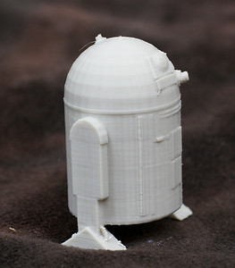 A model of R2D2 taken off thinigverse.com