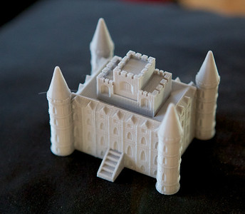 Downton Abbey Castle - from Thingiverse