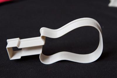 Guitar Cookie Cutter - My Design