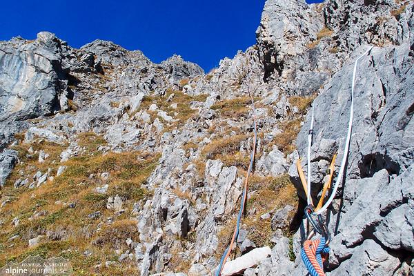 4th pitch, Grosser Widderstein Ostgrat (complete east ridge)