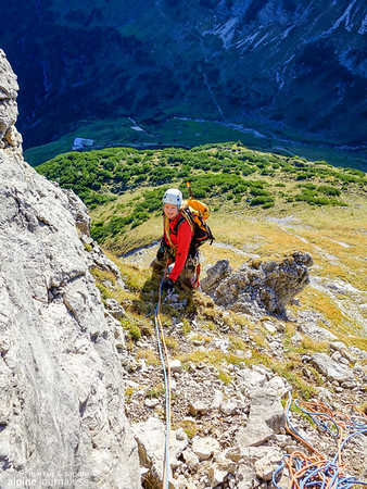 2nd pitch, Grosser Widderstein Ostgrat (complete east ridge)