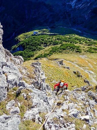 3rd pitch, Grosser Widderstein Ostgrat (complete east ridge)