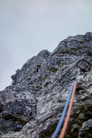 9th pitch, Kleiner Daumen Nordostkante