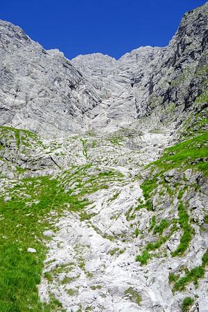 Schöllhornkar! Finally some easy non-belay terrain.
