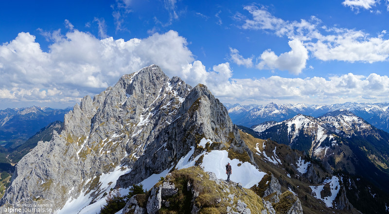 Kellerspitze seen from Zwerchwand