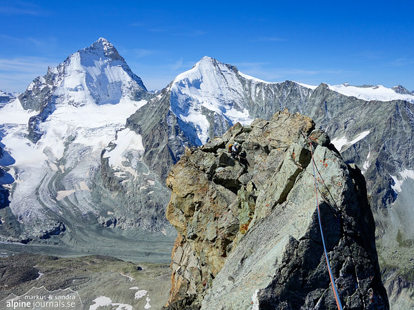 Dent Blanche and Grand Cornier in the background.