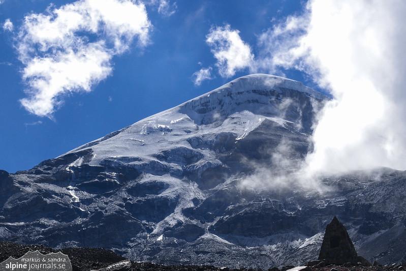 Chimorazo, 6300 m.