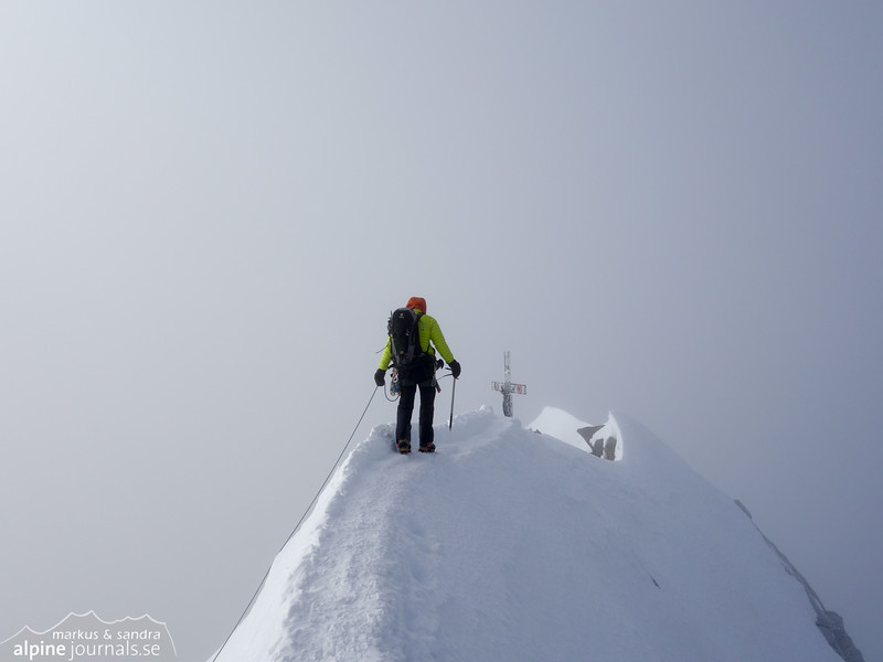 Summit of Dom, 4545 m.