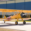 Stearman taxiing out for a flight.